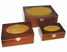 5020 5021 5022 CAJAS DE PINO Rectangulares con Cristal Oval Innspiro