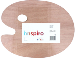 5309 Paleta oval madera Innspiro