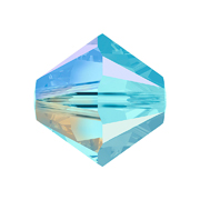 A5328-202-4 02 5328-202-4 02 Cuentas cristal Tupi 5328 aquamarine aurora boreale 2X Swarovski Autorized Retailer