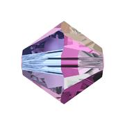 A5328-204-4 02 5328-204-4 02 Cuentas cristal Tupi 5328 amethyst aurora boreale 2X Swarovski Autorized Retailer