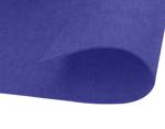 Fieltro acrílico azul fuerte láminas 20x30cm.x2mm. 220gr./m2 4u.