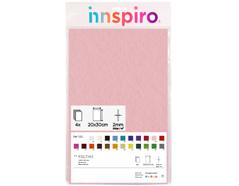 55216 Fieltro acrilico rosa claro 20x30cm 2mm 4u Felthu