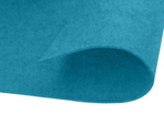 55408 Fieltro acrilico turquesa adhesivo 20x30cm 2mm 2u Innspiro - Ítem1