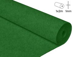 57145 Fieltro acrilico verde fuerte 100x200cm 1mm 1u Innspiro