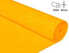 57234 Fieltro acrilico amarillo 100x200cm 2mm 1u Felthu