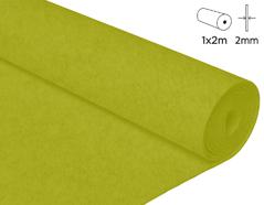 57237 Fieltro acrilico lima 100x200cm 2mm 1u Felthu