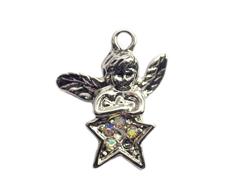 Z59117 59117 Colgante metalico NICE CHARMS angel con estrella Innspiro