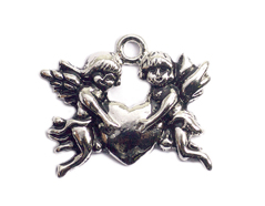 Z59118 59118 Colgante metalico NICE CHARMS angeles con corazon Innspiro