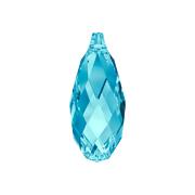 6010-202-11X5 Colgantes de cristal Briolette 6010 aquamarine Swarovski Autorized Retailer