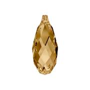 6010-246-11X5 Colgantes de cristal Briolette 6010 light colorado topaz Swarovski Autorized Retailer