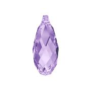 6010-539-11X5 Colgantes de cristal Briolette 6010 tanzanite Swarovski Autorized Retailer