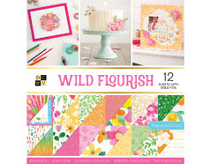 609070 Set 36 papeles doble cara Stack Wild Flourish DCWV