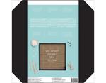 614101 Tablero con 188 letras Letter Board Black Frame DCWV - Ítem2