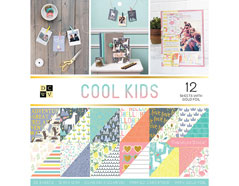 614323 Set 36 papeles doble cara Stack Cool Kids DCWV