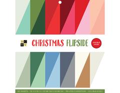 614663 Set 40 papeles doble cara Stack Christmas Flipside DCWV