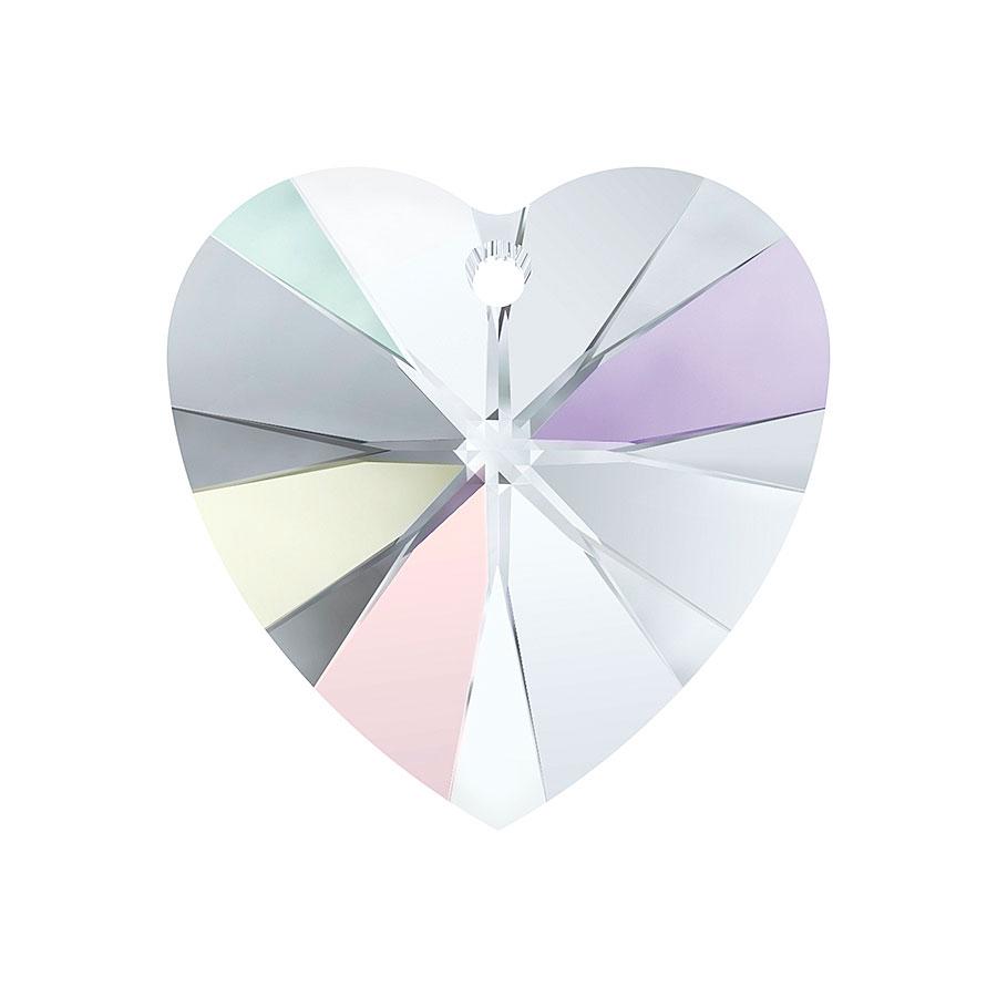 A6228-001-10X10 01 6228-001-10X10 01 6228-001-14X14 01 Colgantes de cristal Xilion Heart 6228 crystal aurora boreale Swarovski Autorized Retailer