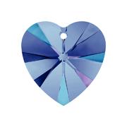A6228-001-10X10 17 6228-001-10X10 17 Colgantes de cristal Xilion Heart 6228 crystal heliotrope Swarovski Autorized Retailer