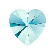 6228-202-10X10 6228-202-14X14 A6228-202-10X10 Colgantes de cristal Xilion Heart 6228 aquamarine Swarovski Autorized Retailer