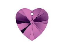 6228-204-10X10 A6228-204-10X10 Colgantes de cristal Xilion Heart 6228 amethyst Swarovski Autorized Retailer