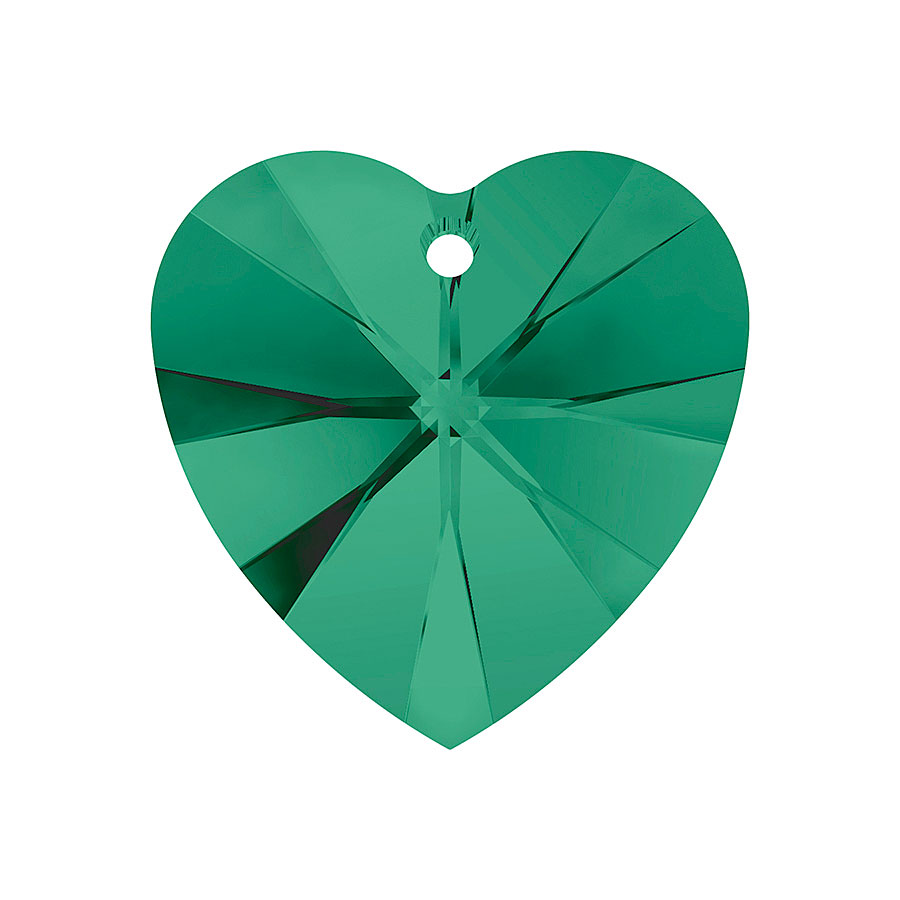 A6228-205-10X10 6228-205-10X10 Colgantes de cristal Xilion Heart 6228 emerald Swarovski Autorized Retailer