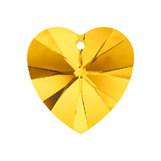 A6228-226-10X10 6228-226-10X10 Colgantes de cristal Xilion Heart 6228 light topaz Swarovski Autorized Retailer - Ítem
