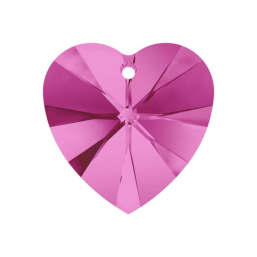 A6228-502-10X10 6228-502-10X10 Colgantes de cristal Xilion Heart 6228 fuchsia Swarovski Autorized Retailer