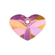 6260-001-27 06 6260-001-17 06 Colgantes de cristal Crazy 4 u Heart 6260 crystal astral pink Swarovski Autorized Retailer