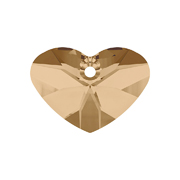 6260-001-37 16 6260-001-27 16 6260-001-17 16 Colgantes de cristal Crazy 4 u Heart 6260 crystal golden shadow Swarovski Autorized Retailer