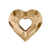 6262-001-26 16 6262-001-17 16 Colgantes de cristal Miss U Heart 6263 crystal golden shadow Swarovski Autorized Retailer