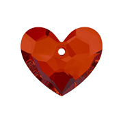 6264-001-28 29 6264-001-18 29 Colgantes de cristal Truly in Love Heart 6264 crystal red magma Swarovski Autorized Retailer