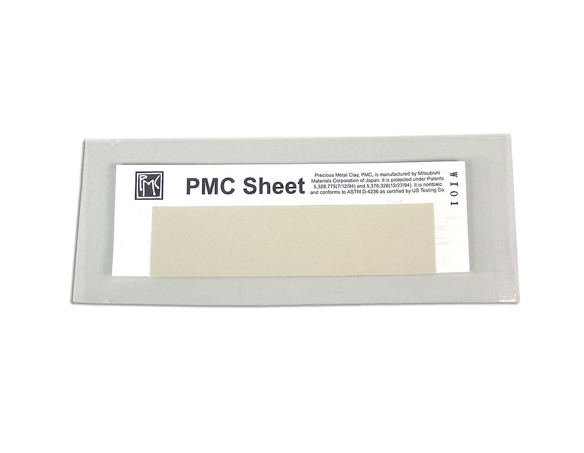 65110 Pasta de plata autentica 999 PMC Hoja 3x12cm PMC