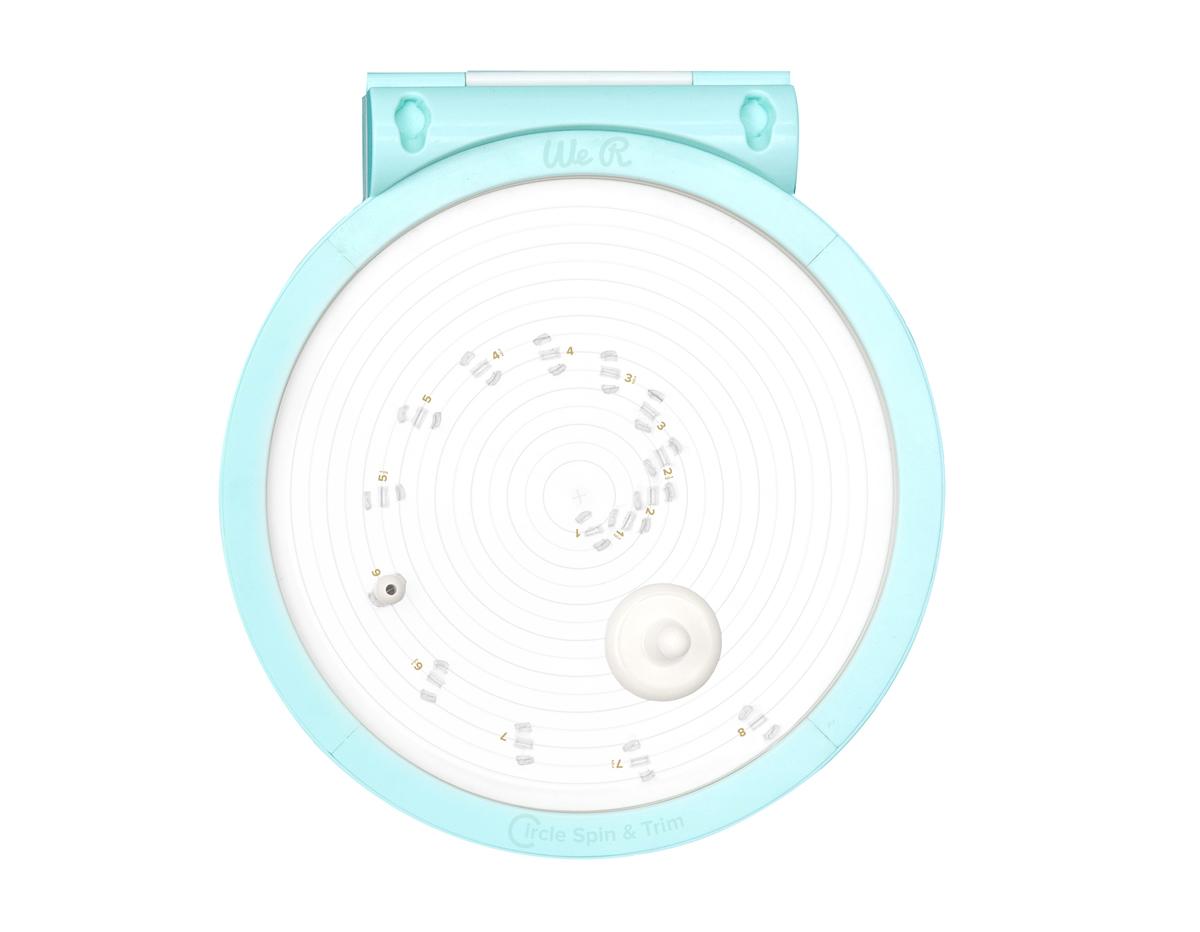 660091 Herramienta para cortar circulos Circle Spin and Trim We R Memory Keepers