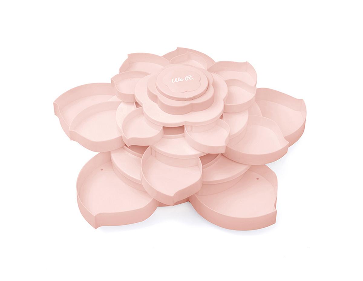 660339 Accesorio de almacenaje flor BLOOM Pink We R Memory Keepers