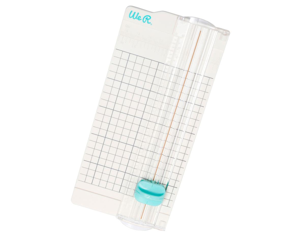 660453 Cizalla mini para papel Mini Trimmer We R Memory Keepers