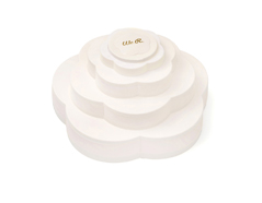 660492 Accesorio de almacenaje flor BLOOM White We R Memory Keepers