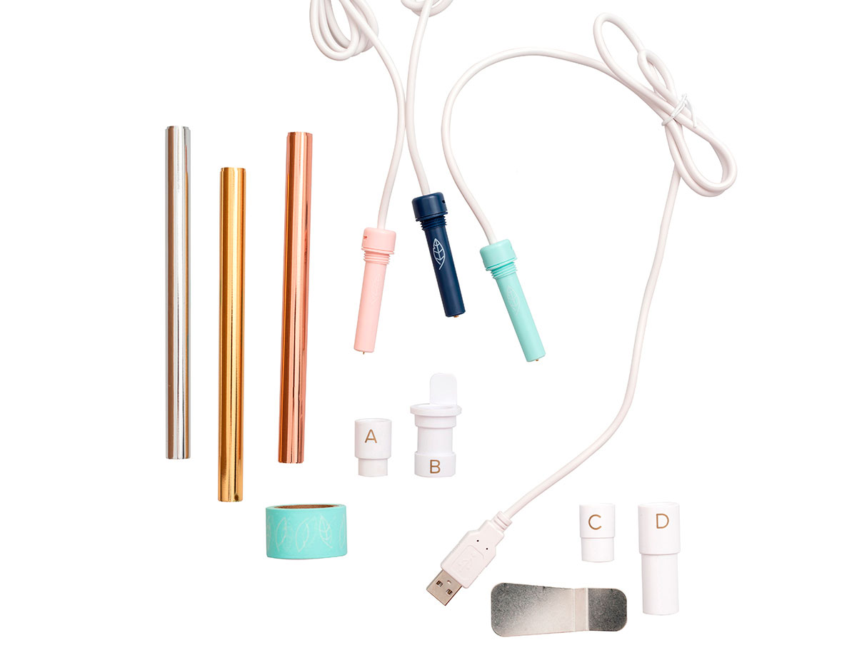 660579 Kit de Adaptadores puntas y complementos Foil Quill WR We R Memory Keepers