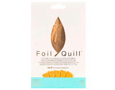 660667 Hojas de Foil oro Foil Quill Gold Finch We R Memory Keepers - Ítem