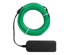 660696 Luz verde neon con alambre para crear adornos con la Happy Jig We R Memory Keepers