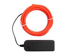 660697 Luz naranja neon con alambre para crear adornos con la Happy Jig We R Memory Keepers - Ítem