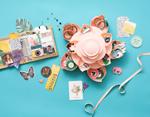 660700 Accesorio de almacenaje flor MINI BLOOM Pink We R Memory Keepers - Ítem2