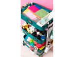 660724 Carrito metalico color verde esmeralda 3 estantes WR A La Cart We R Memory Keepers - Ítem3