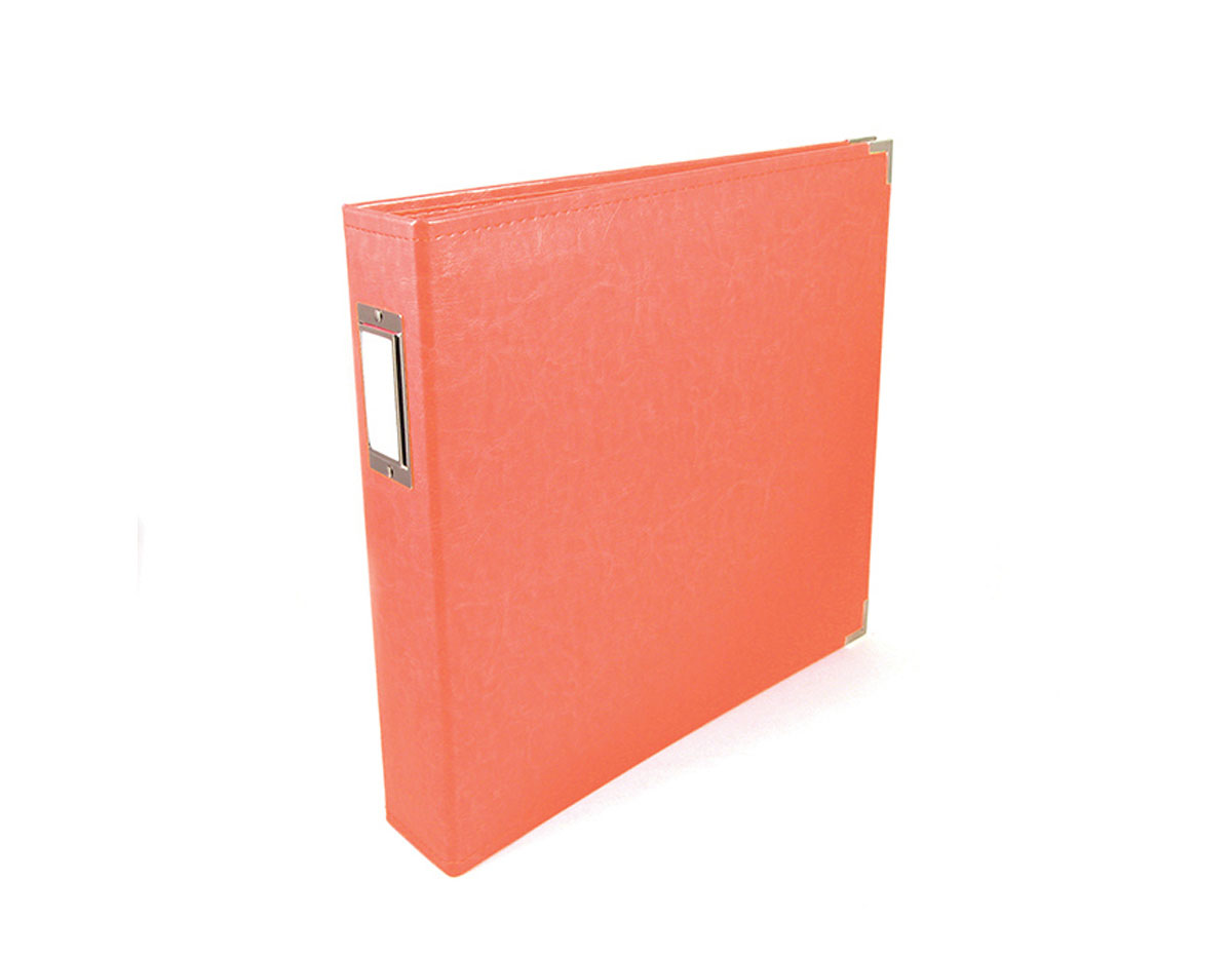 660906 Album Classic con anillas coral We R Memory Keepers