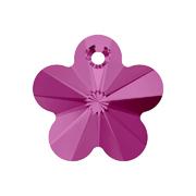 6744-502-14 6744-502-12 Colgantes de cristal Flower 6744 fuchsia Swarovski Autorized Retailer