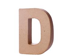 70104 Letra D papel mache con volumen Innspiro - Ítem