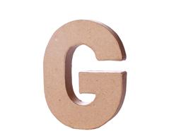 70107 Letra G papel mache con volumen Innspiro