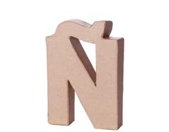 70115 Letra N papel mache con volumen Innspiro