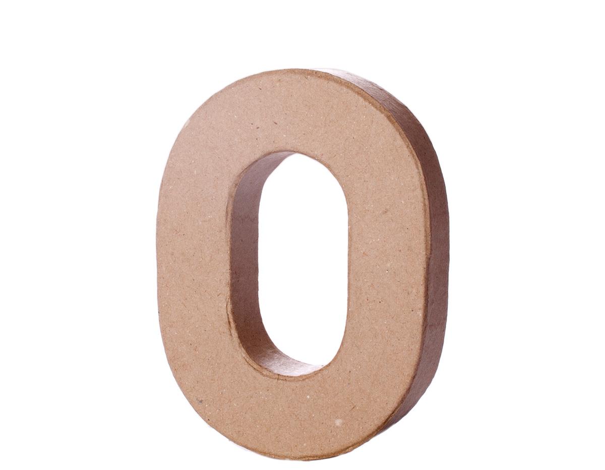 70116 Letra O papel mache con volumen Innspiro