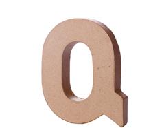 70118 Letra Q papel mache con volumen Innspiro