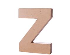 70127 Letra Z papel mache con volumen Innspiro