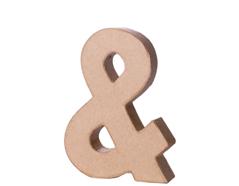 70128 Simbolo AND papel mache con volumen Innspiro